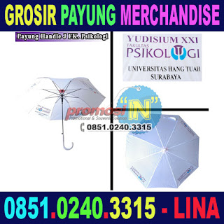 Jual Merchandise Payung Murah Grosir Yudisium Universitas Hang Tuah Surabaya