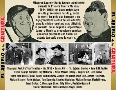 El abuelo de la criatura (Laurel & Hardy) - [1932]