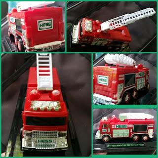mini  Hess Emergency Truck collage