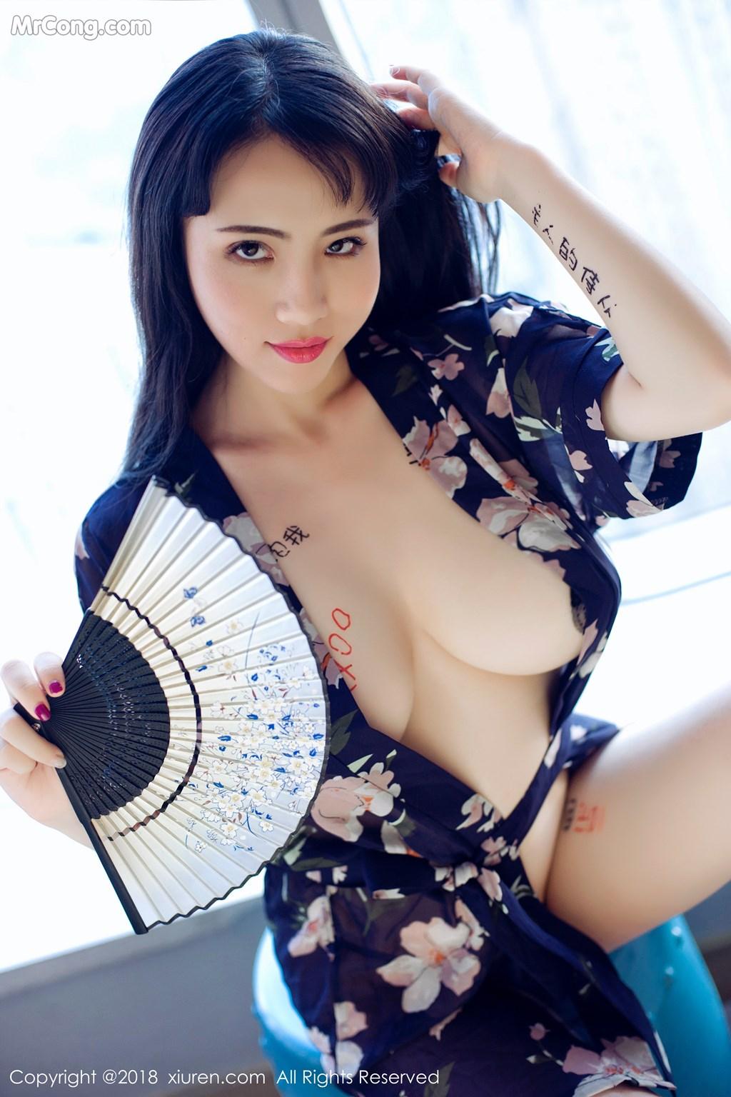 Image XIUREN-No.1151-ruirui-MrCong.com-010 in post XIUREN No.1151: Người mẫu 瑞瑞ruirui (48 ảnh)
