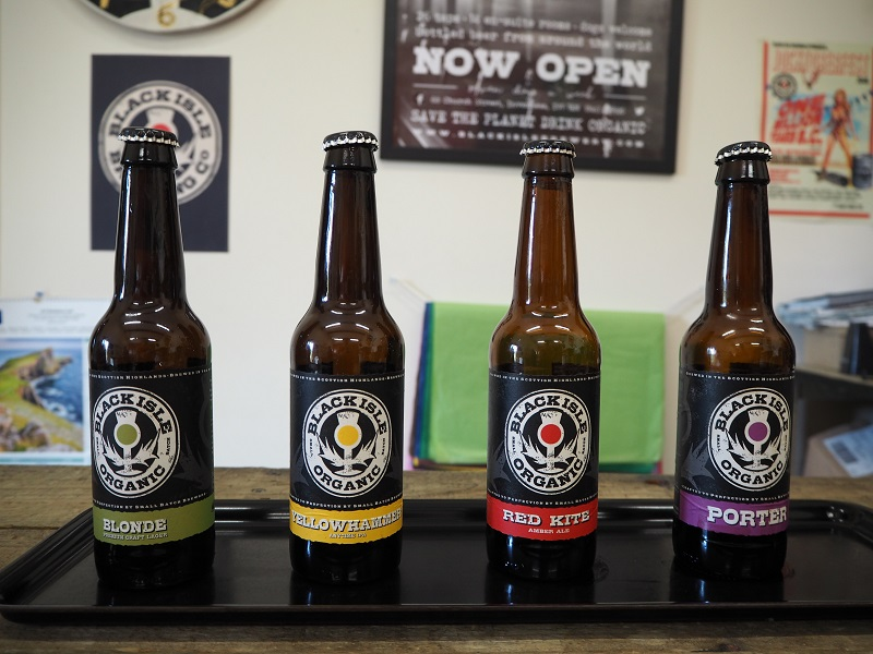 Black Isle beer tasting