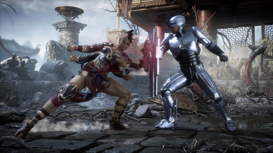 robocop mortal kombat 11 aftermath dlc expansion robocop vs sheeva paid content fighting game nether realm studios warner bros interactive entertainment pc ps4 switch xb1