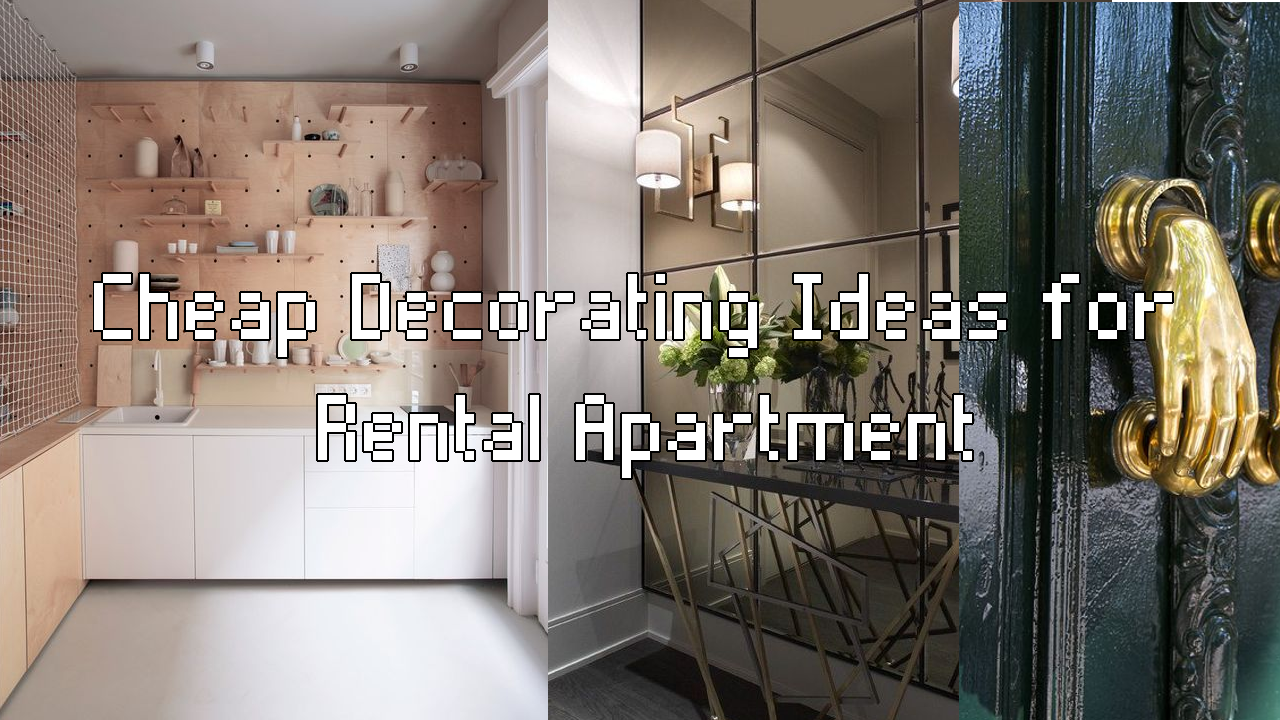 Easy decorating ideas for rental aparment