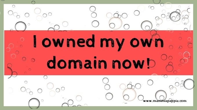 I have my own domain now!
