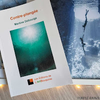 Livre Purplerain : Contre-plongée - Martine Debouige
