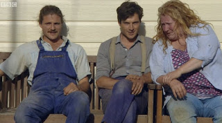 The Rich Brothers and Charlie Dimmock from Garden Rescue