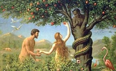Adam, Eve, Serpent