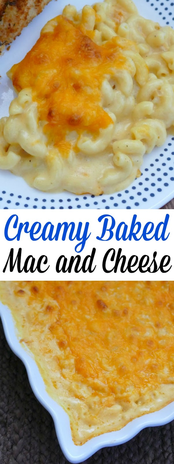 This delicious 3 cheese baked macaroni and cheese is a perfect winter comfort food! Great for Sunday dinner, Thanksgiving, Christmas or any holiday meal! This will cure any soul food craving!