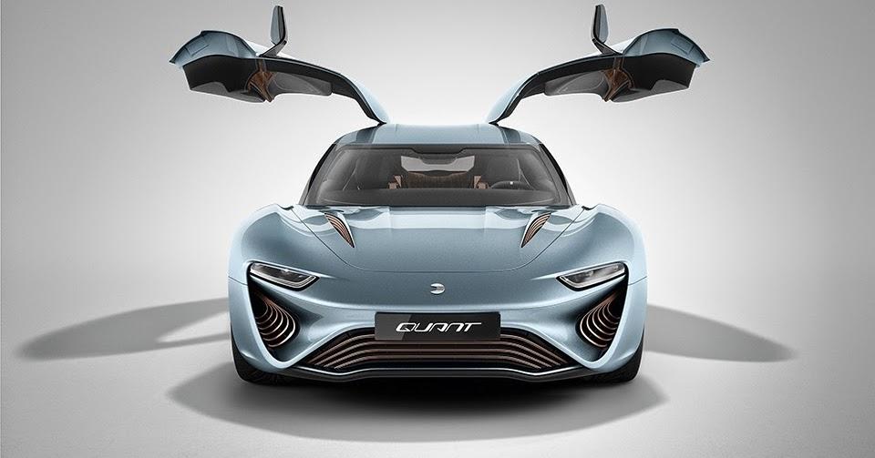 Salt Water Powered Car: Salt Water Powered Supercar: QUANT E-Sportlimousine