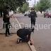 Manifestantes protestan frente a comisaría de Cauquenes  por muerte de malabarista en Panguipulli