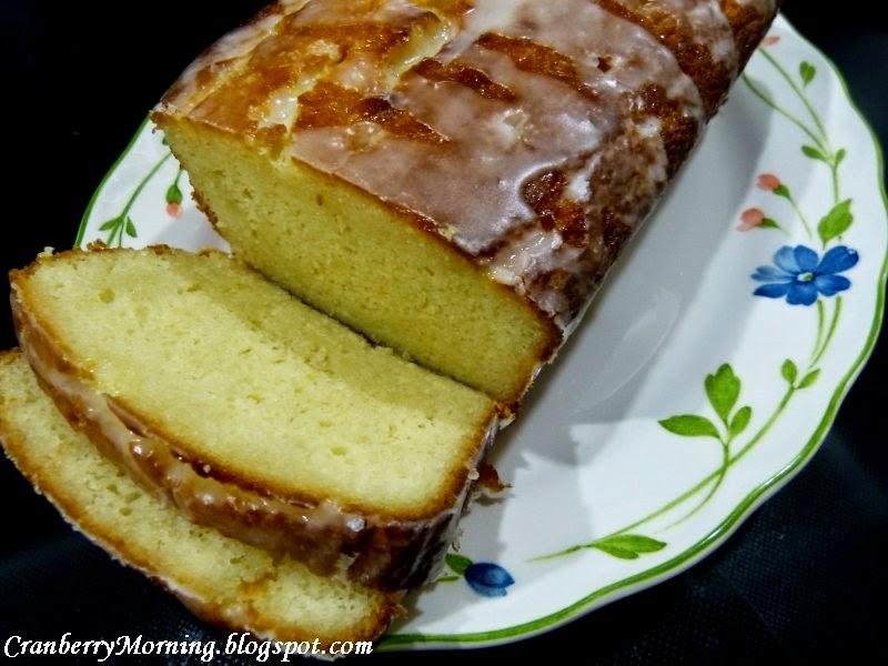 Cranberry Morning: Lemon Yogurt Cake Recipe, Moist And