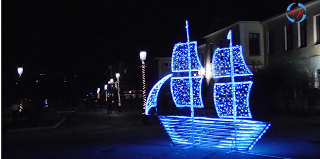 Πρέβεζα: Χριστουγεννιάτικο Χωριό & Στολισμός Στην Πρέβεζα![Βίντεο]