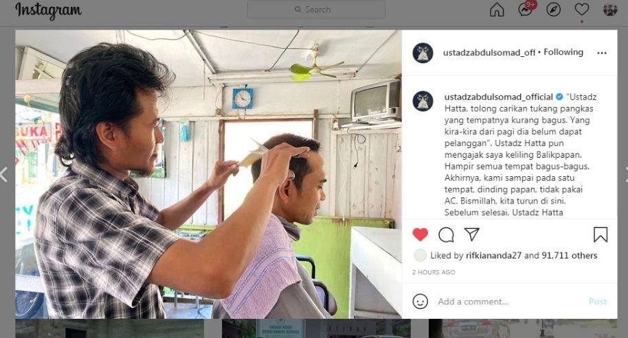 UAS Nyari Tukang Pangkas Rambut yang Tempatnya Kurang Bagus: Dari Pagi Belum Dapat Pelanggan