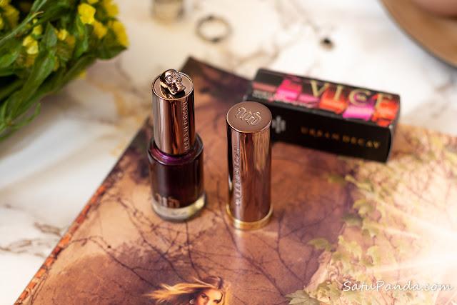 Urban Decay Vice Lipstick Raprure отзыв и свотчи