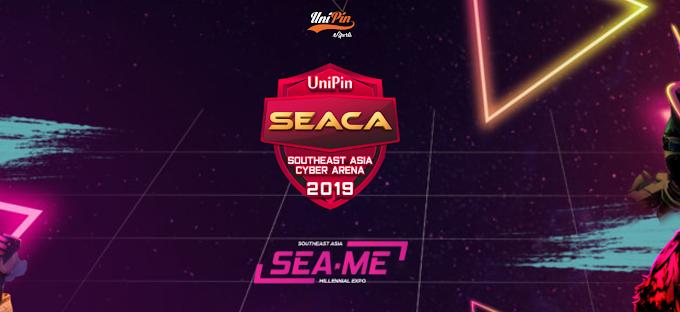 UniPin SEACA 2019 Turnamen eSport terbesar se-Asia Tenggara