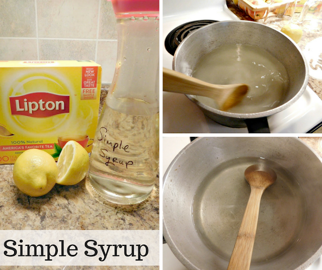 Simple Syrup - It's all in the name