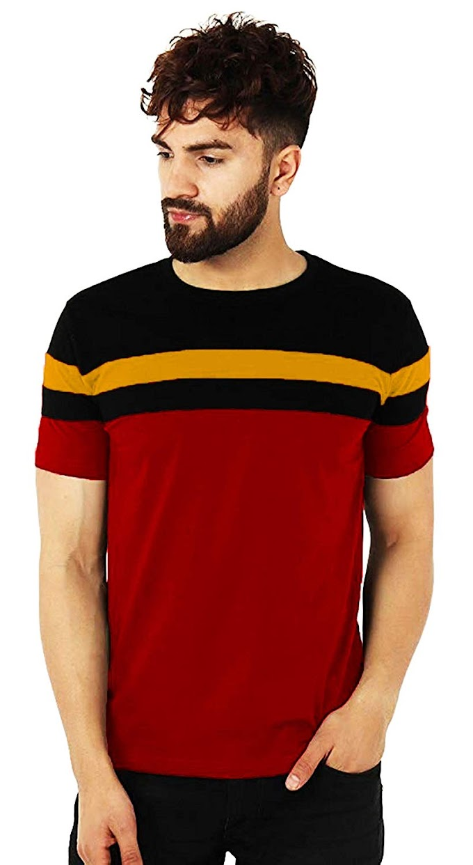 Rs,199/- Leotude Men's Cotton T-Shirt
