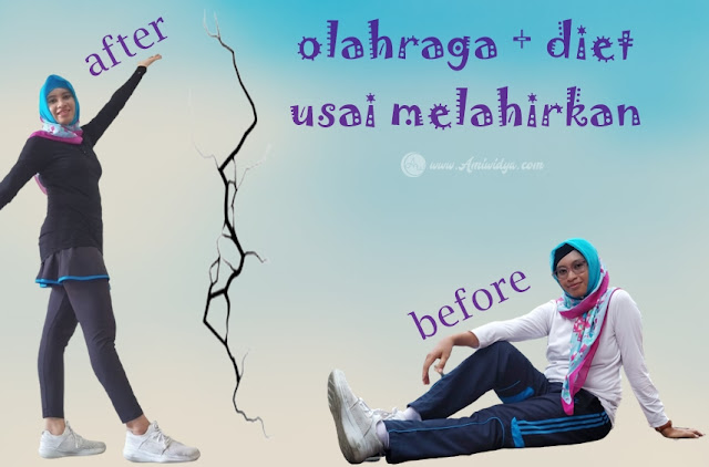 before after olahraga