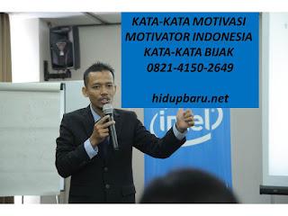 kata kata Motivasi Motivator