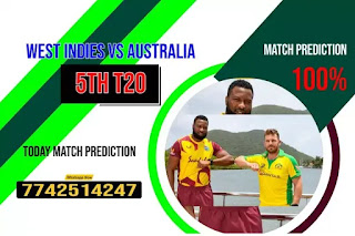 Win 5th T20 Match AUS vs WI Who will win Today Astrology