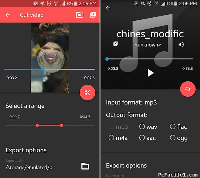 أفضل تطبيق اندرويد لدمج وتحويل وتقطيع الصوتيات والفيديوهات بسهولة