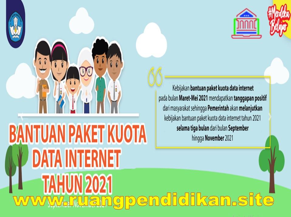 Juknis Bantuan Kuota Internet Kemendikbud