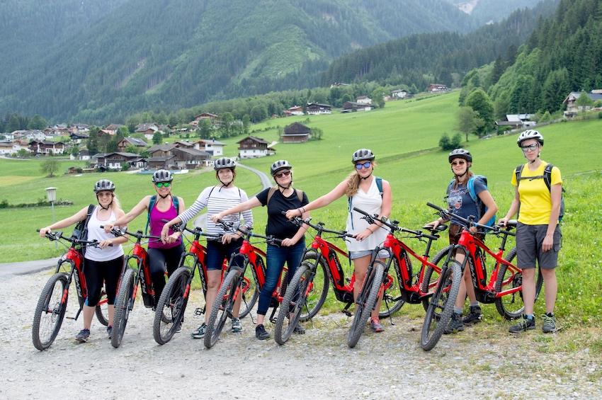 E-bike tour krimml