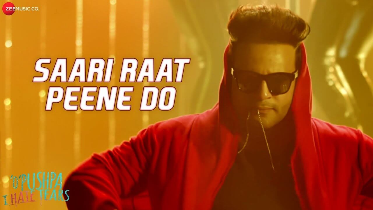 Saari Raat Peene Do lyrics in Hindi