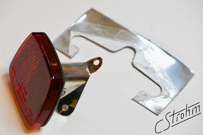 Busch und Müller rear reflector with custom mount