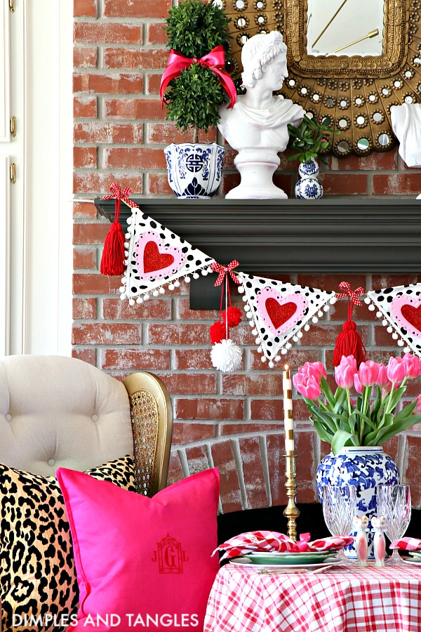 Valentine's Day Outfits, Valentine's Day Decorations, Valentine's Day Tablescape