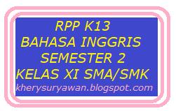 Rpp 1 Lembar Bahasa Inggris Kelas Xi Sma Smk Semester 2 Revisi 2020 2021 Kherysuryawan Id