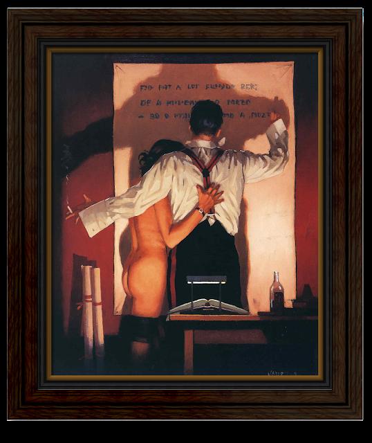 artist Jack Vettriano - The great poet