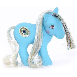 MLP Princess Taffeta Year Six Princess Ponies II G1 Pony