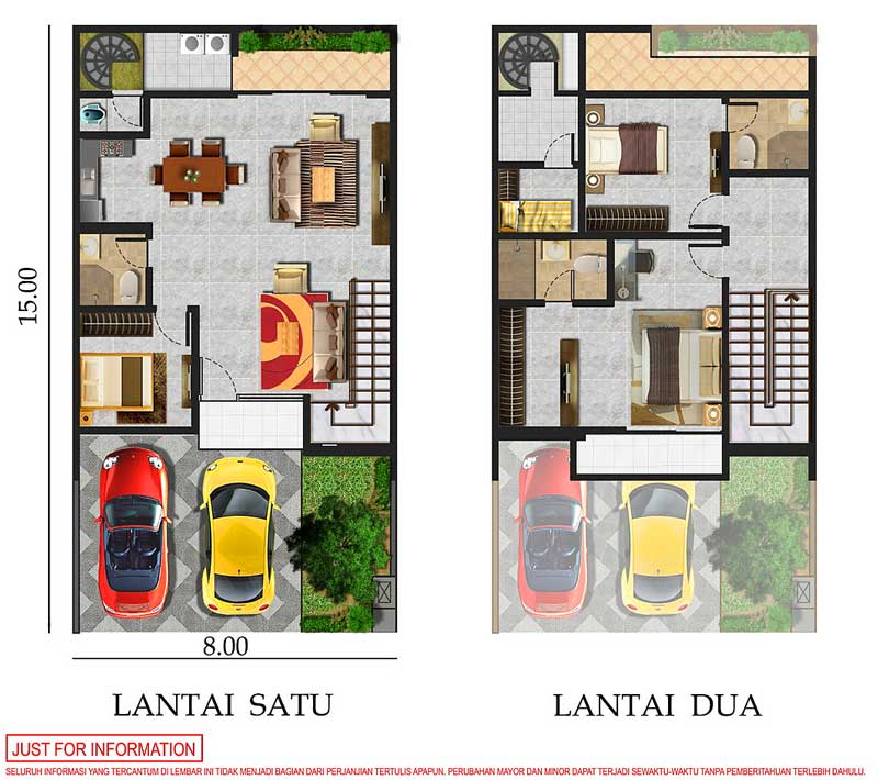 Show Unit Rumah Pik 2 Tipe 8x15 Pik 2 Sedayu Indo City Official By Agung Sedayu Group