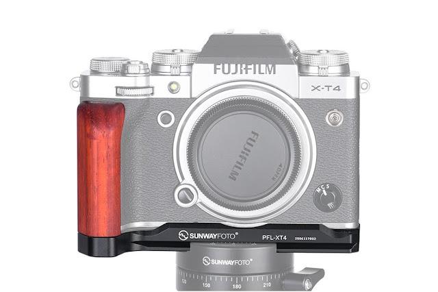Sunwayfoto PF-XT4 on Fujifilm X-T4