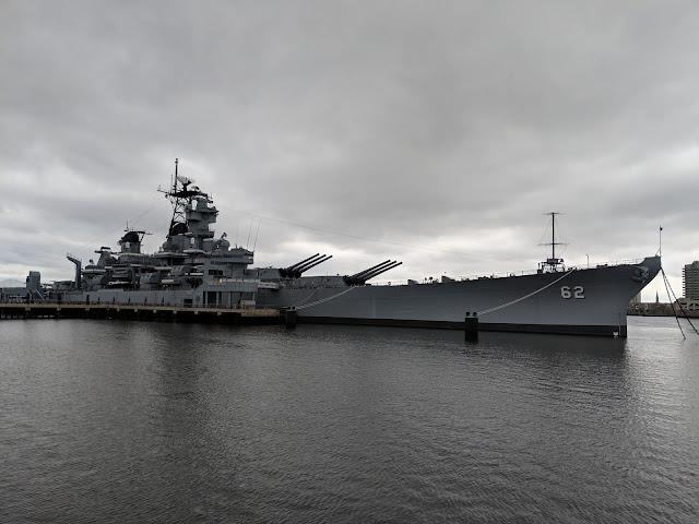 Лінкор Нью-Джерсі — найбільший лінкор Морського Флоту США (USS New Jersey (BB-62))