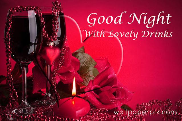 good night drink image