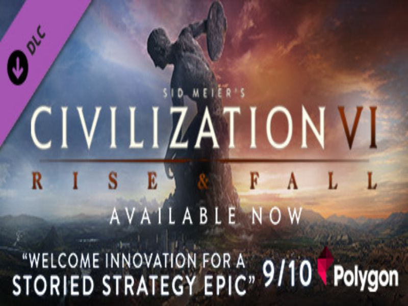 Download Sid Meier's Civilization VI Rise and Fall Game PC Free