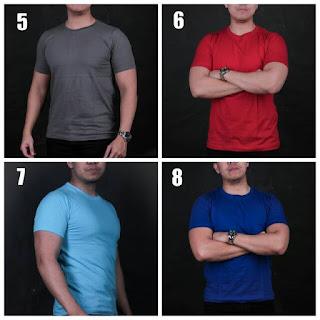 Pedagang Kaos Polos 30S Combed Paling Murah di Pesawaran
