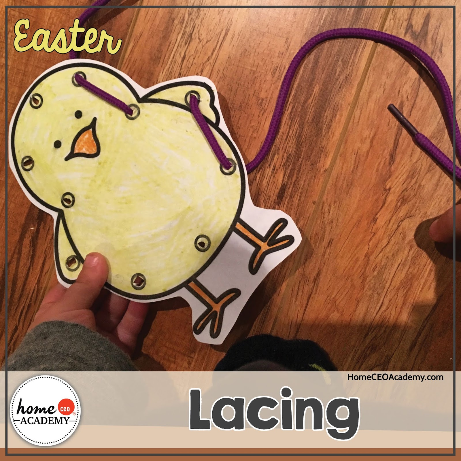 Preschool Homeschool Easter Unit