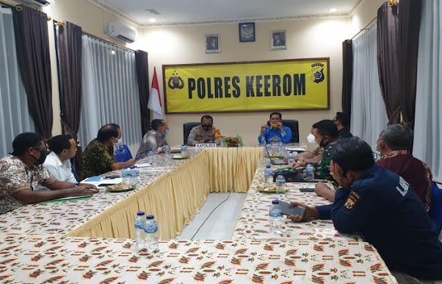 Ridwan Rumasukun Imbau Masyarakat Keerom Kedepankan Dialog Untuk Selesaikan Masalah