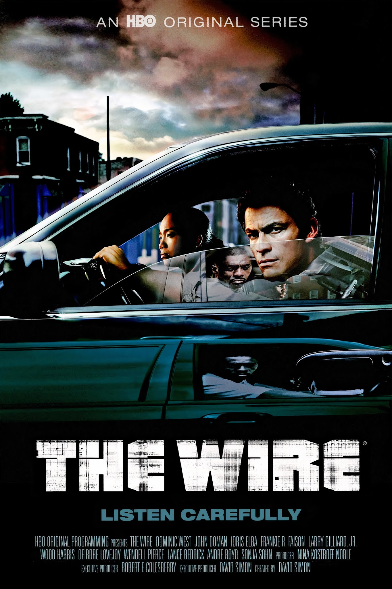 descargar the wire en hd serie completa latino