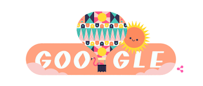 Google marks beginning of summer in northern hemisphere with doodle