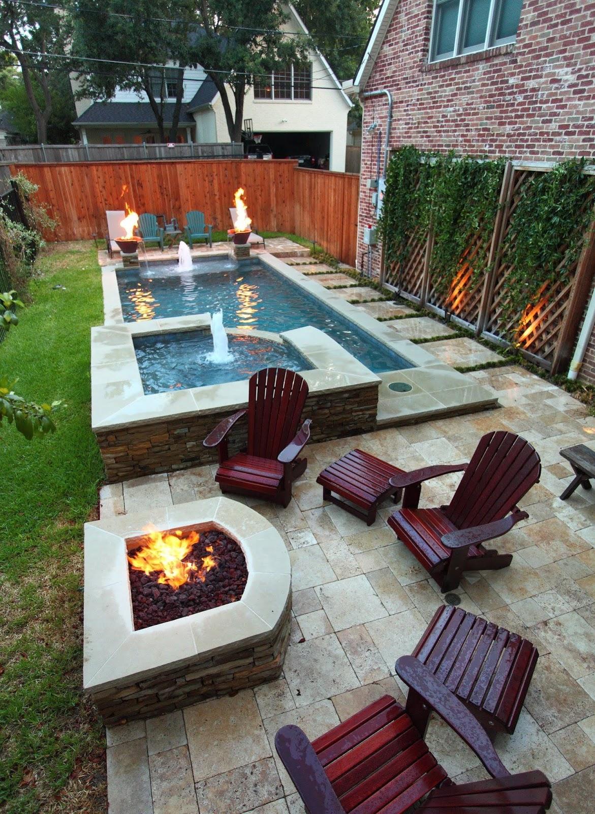 Small Pool Backyard Designs Idea