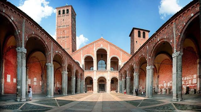 Basílica di SantAmbrogio em Milão