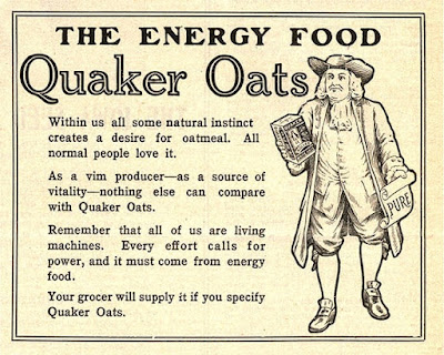 Quaker Oats - The Energy Food