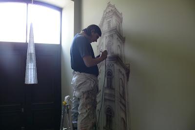 Malarstwo ścienne, malowanie obrazów na zamówienie, artystyczne malowanie ścian 3D, malowidła ścienne