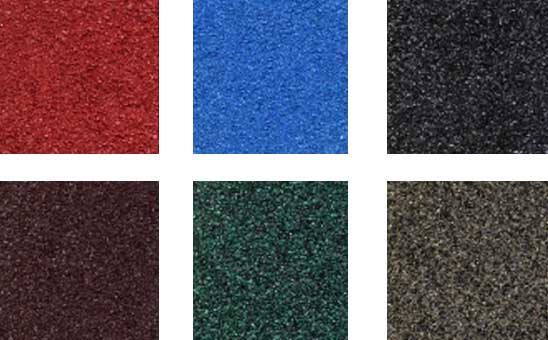 warna genteng metal pasir