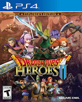 Dragon Quest Heroes 2 Game Cover PS4