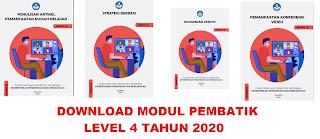 DOWNLOAD MODUL PEMBATIK LEVEL 4 TAHUN 2020